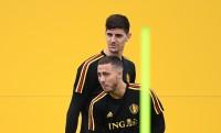 Courtois Tidak Mau Berpisah dengan Hazard