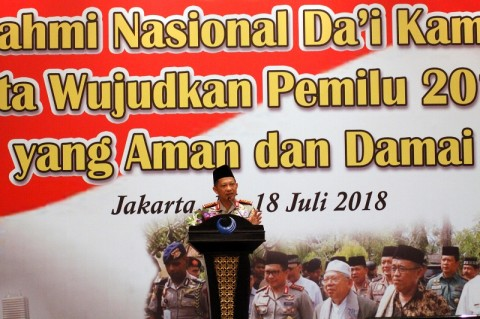 Tito Merasa Difitnah Bachtiar Nasir Soal Khilafah
