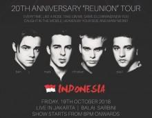Boyband a1 Gelar Konser Reuni di Jakarta
