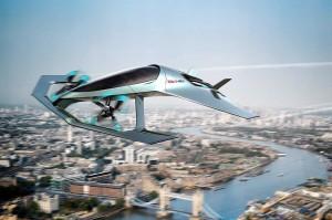 Volante Vision Concept, Mobil Terbang ala Aston Martin