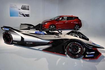 Nissan Pamer Mobil Formula E, Siap Debut Akhir 2018