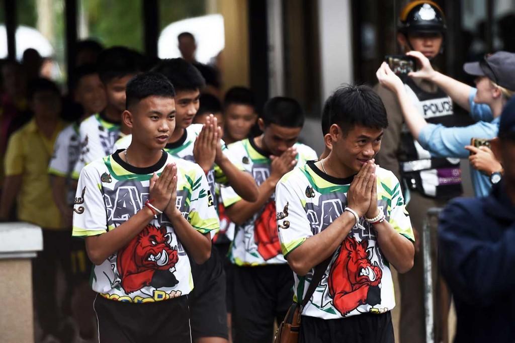 12 Remaja Thailand Tampil Perdana di Publik