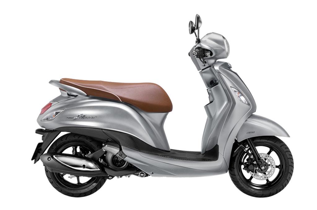 Yamaha Grand Filano Hybrid memiliki konsumsi bahan bakar mencapai 60 kpl. Yamaha