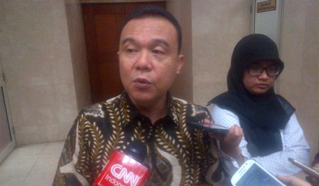 Anggota Komisi III DPR Fraksi Gerindra Sufmi Dasco Ahmad. (Foto: MTVN/M Rodhi Aulia)