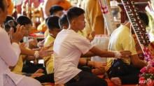 12 Remaja Gua Tham Luang Berdoa Diberi Keberuntungan
