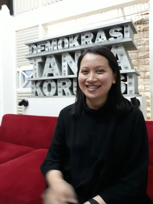 Peneliti ICW, Siti Juliantari, Medcom.id/Citra Larasati.