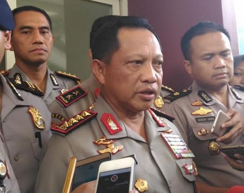 Kapolri Jenderal Tito Karnavian--Metrotvnews.com/Ilham Wibowo.
