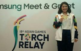 Bawa Obor Asian Games 2018, Dian Sastro Latihan Fisik Sebulan
