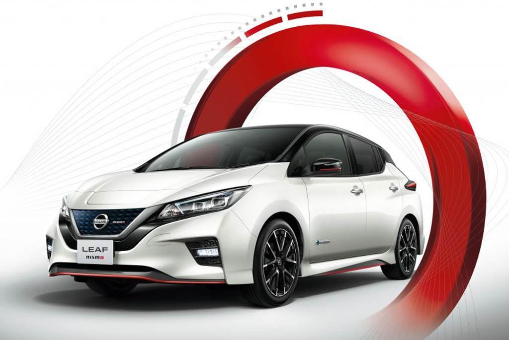 Nissan Leaf Nismo siap meluncur diakhir bulan. Nissan