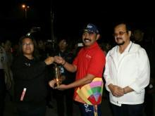 Api Asian Games Dibawa ke Malang