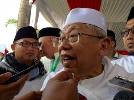 Ma'ruf Amin Ready to Become Jokowi's Running Mate