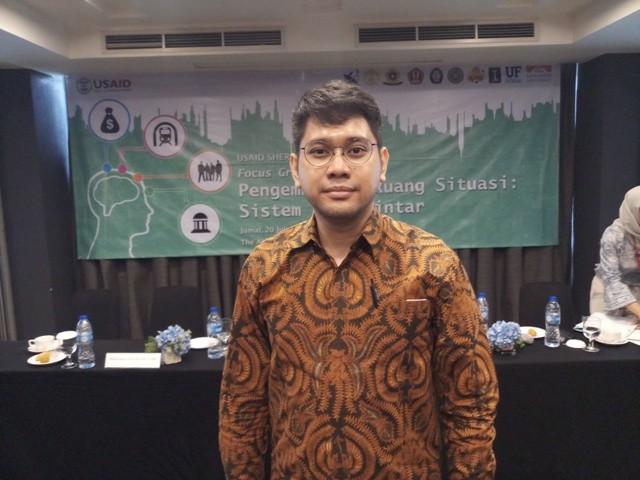 Manajer Kemitraan Smart City Universitas Indonesia Ahmad Gamal/Medcom.id/Adin