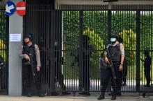 Densus 88 Geledah Tempat Usaha Terduga Teroris di Tasik