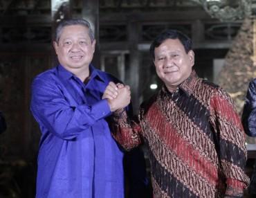 Prabowo Ingin Dengar soal AHY dari SBY