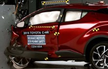 Lampu Depan Toyota C-HR jadi Kelemahan Versi IIHS
