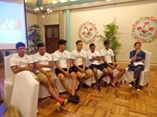 Enam Pemain Arema FC Ikut Pawai Obor Asian Games di Malang