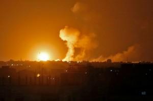 Israel Gempur Jalur Gaza usai Satu Prajurit Tewas Ditembak