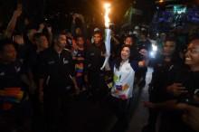 Pesta Rakyat Ramaikan Kirab Obor Pertamina
