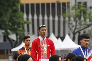 Indonesia Sabet Emas ASG dari Lompat Jauh