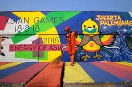 Menengok Kampung Tematik Asian Games di Kemayoran