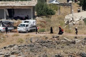 Pemberontak Suriah Siap Tinggalkan Dataran Tinggi Golan