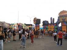 Antrean Mengular di Photo Booth We The Fest 2018 Hari Kedua