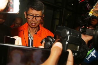 Suami Inneke Koesherawati dan Kalapas Sukamiskin Ditahan KPK