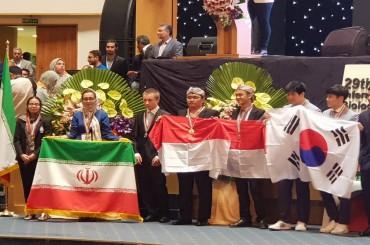 RI Raih 4 Medali Perak di Ajang Olimpiade Biologi Internasional