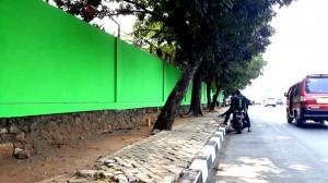 Seniman Mural Boleh Melukis di Tembok Stadion Patriot