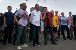 Hadiri We The Fest 2018, Jokowi Puji Penampilan WSATCC