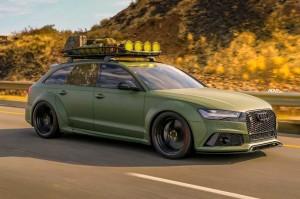 Modifikasi Audi RS6 Bergaya Army