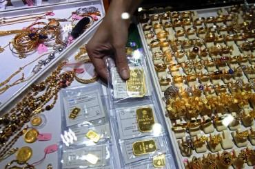 Harga Emas Antam Menguat Rp5.000/Gram