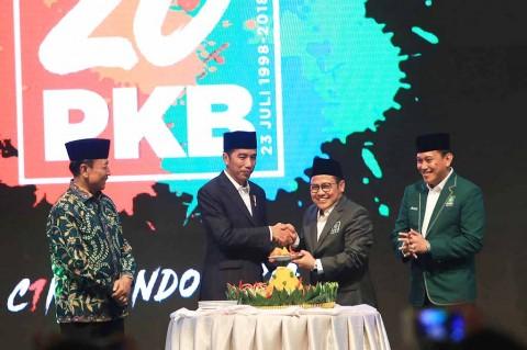 Jokowi Hadiri Peringatan Harlah ke-20 PKB