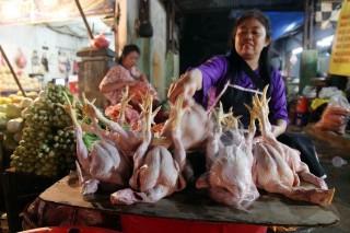 Pedagang Daging Ayam di Sukoharjo Sulit Dapatkan Stok
