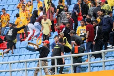Menyayangkan Aksi Vandalisme Suporter di Stadion Gelora Sriwijaya Jakabaring