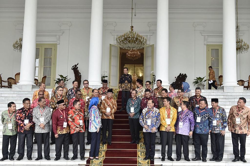 Jokowi Minta Wali Kota Bersiap Hadapi Revolusi Industri 4.0