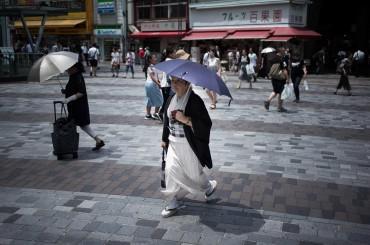 Gelombang Panas, Suhu di Jepang Lampaui 40 Derajat Celcius