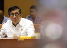 Menteri Yasonna Stres Anak Buah Dicokok KPK