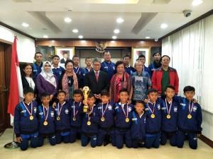 Timnas Pelajar Indonesia Ukir Prestasi di Tiongkok