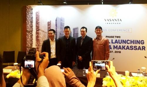 Peluncuran tower ke dua Vasanta Innopark di Jakarta.