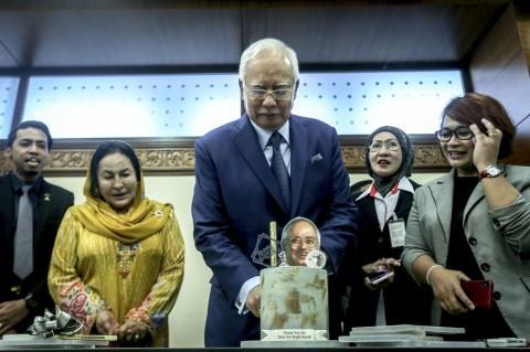 Najib Razak Rayakan Ultah ke-65 di Kediamannya