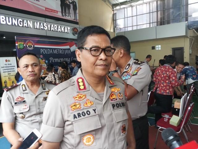 Kabid Humas Polda Metro Jaya Kombes Raden Prabowo Argo Yuwono. Foto: Medcom.id/M Sholahadhin Azhar