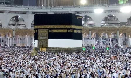 ILUSTRASI: Jemaah haji memadati Masjidil Haram,