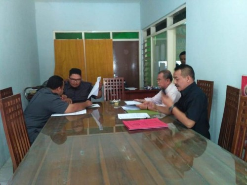 Dua Bacaleg melapor ke Panwaslu Sidoarjo