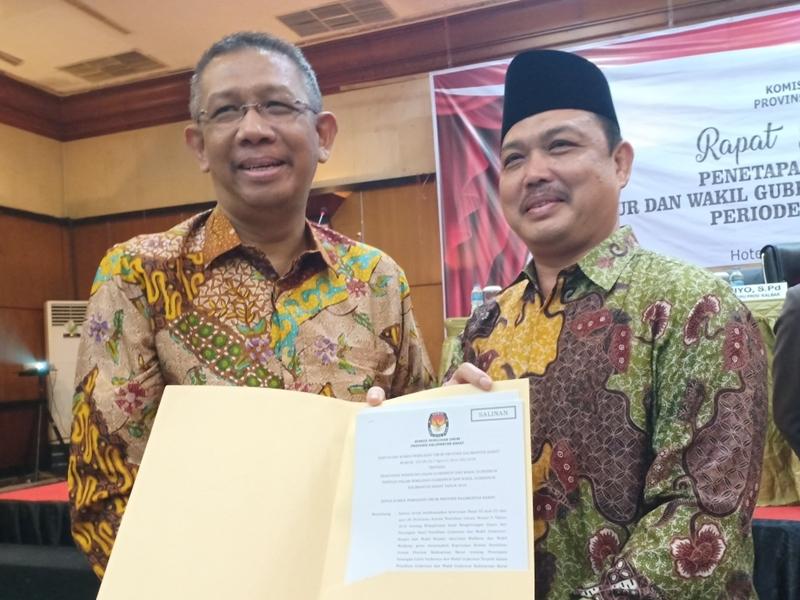 Gubernur dan Wakil Gubernur terpilih Kalimantan Barat, Sutarmidji - Ria Norsan. Medcom.id/Agung Widura