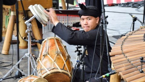 KBRI Stockholm Promosi Wisata di Kampung Indonesia