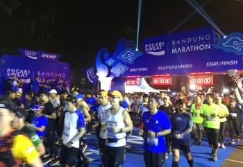 Pocari Sweat Bandung West Java Marathon, Dukung Asian Games dan Sport Tourism