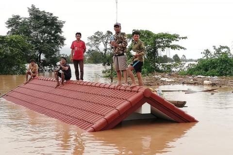 17 Mayat Ditemukan Usai Bendungan Laos Roboh