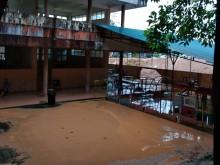 Sekolah dan Puluhan Rumah di Batam Terendam Banjir