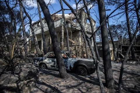 KBRI Athena Pantau Kebakaran Hutan di Yunani
